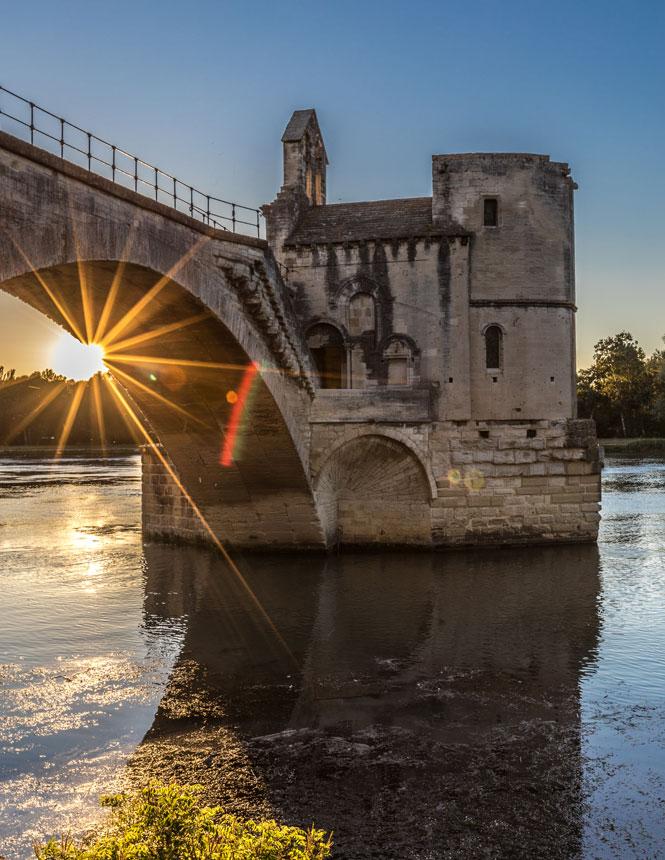 Die Brücke von Avignon ©Kessler G.