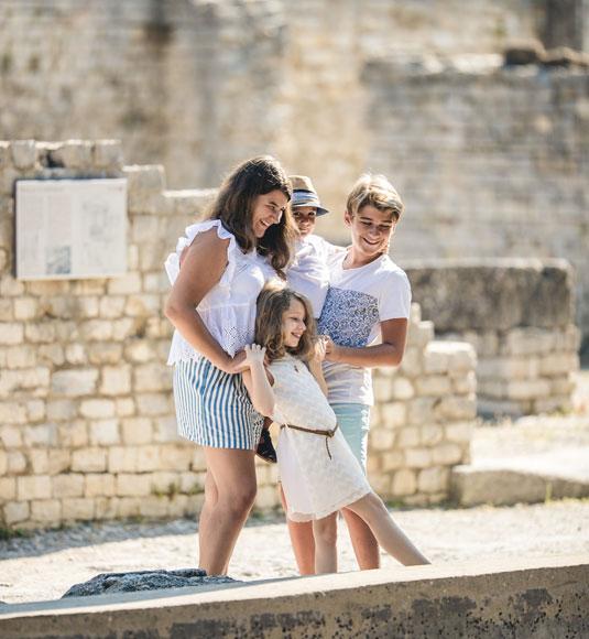 Archäologischen Stätte von Vaison-la-Romaine