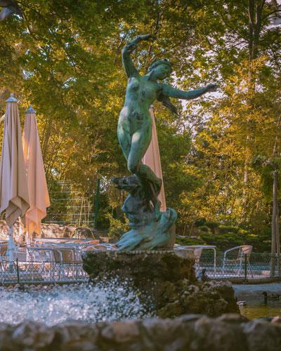 Der Stadtpark Jardin des Doms