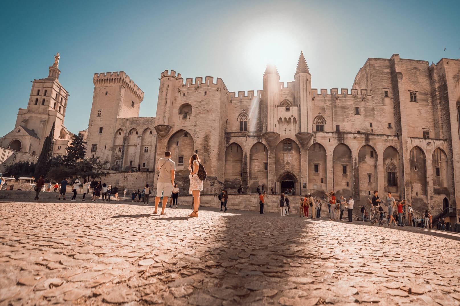 Avignon zur Zeit der Päpste