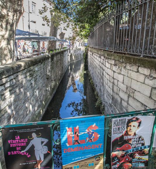 Rue des Teinturiers in Avignon @ Kessler