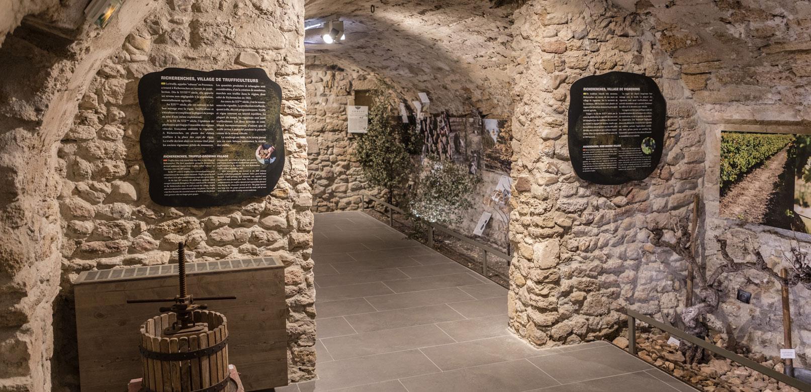Trüffelmuseum in Richerenches © Kessler