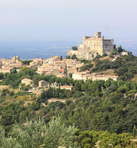 Das Schloss Le Barroux