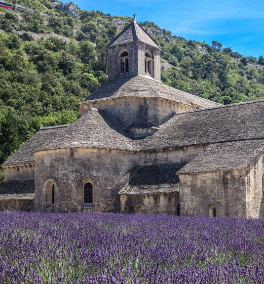 Die Abtei von Sénanque