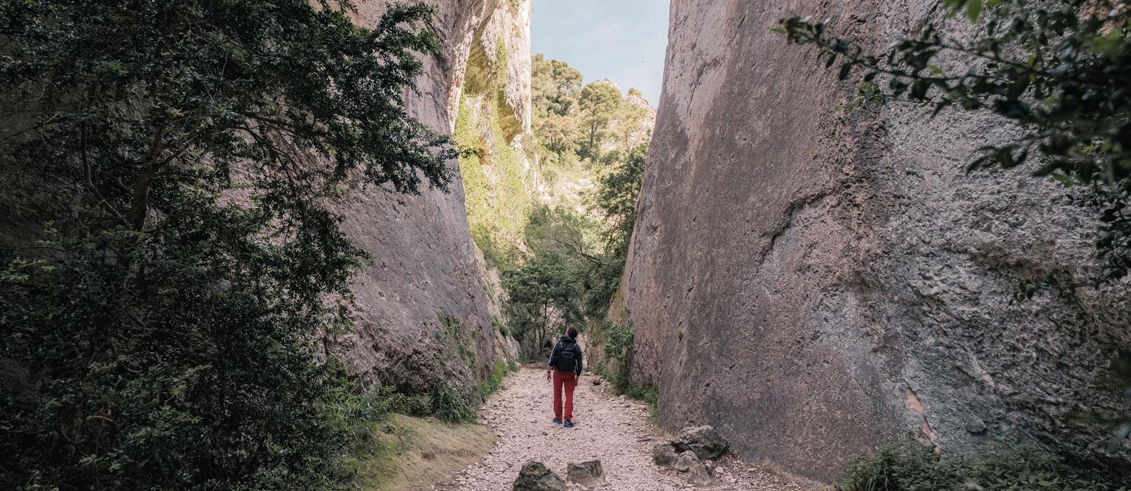 Wanderung in der Kühle der Gorges du Régalon © Verneuil