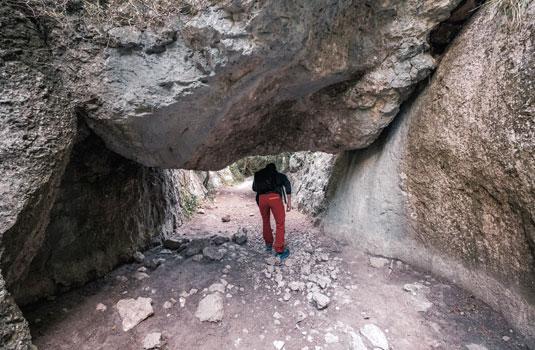 Wanderung in der Kühle der Gorges du Régalon